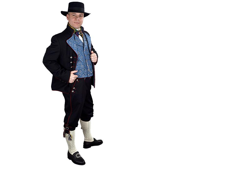 Rogalandsbunad - Sort jakke